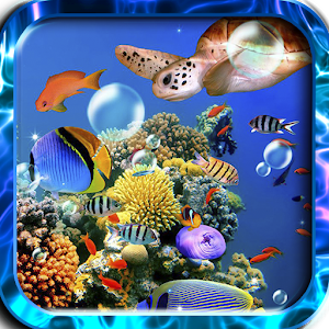Aquarium Fishes live wallpaper