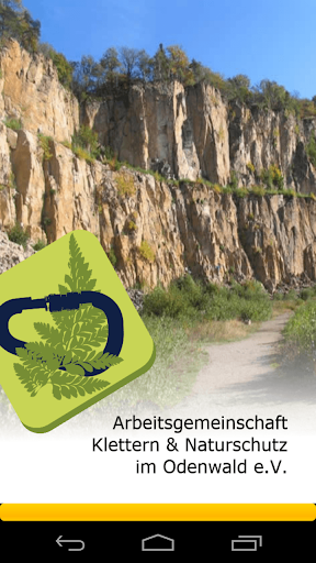 AG Klettern Odenwald