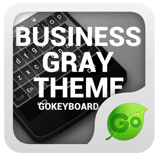 GOKeyboard Business Gray Theme 工具 App LOGO-硬是要APP