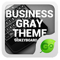 GOKeyboard Business Gray Theme
