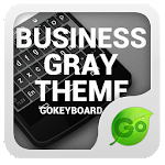 GOKeyboard Business Gray Theme 3.2 Apk