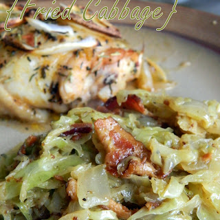 Fried Cabbage.