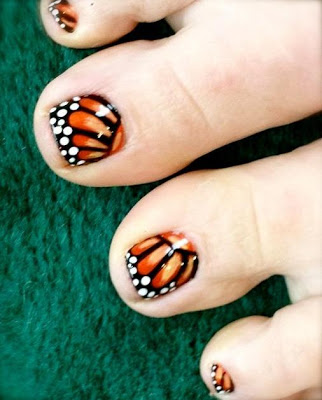 Toe Nail Art designs free - screenshot