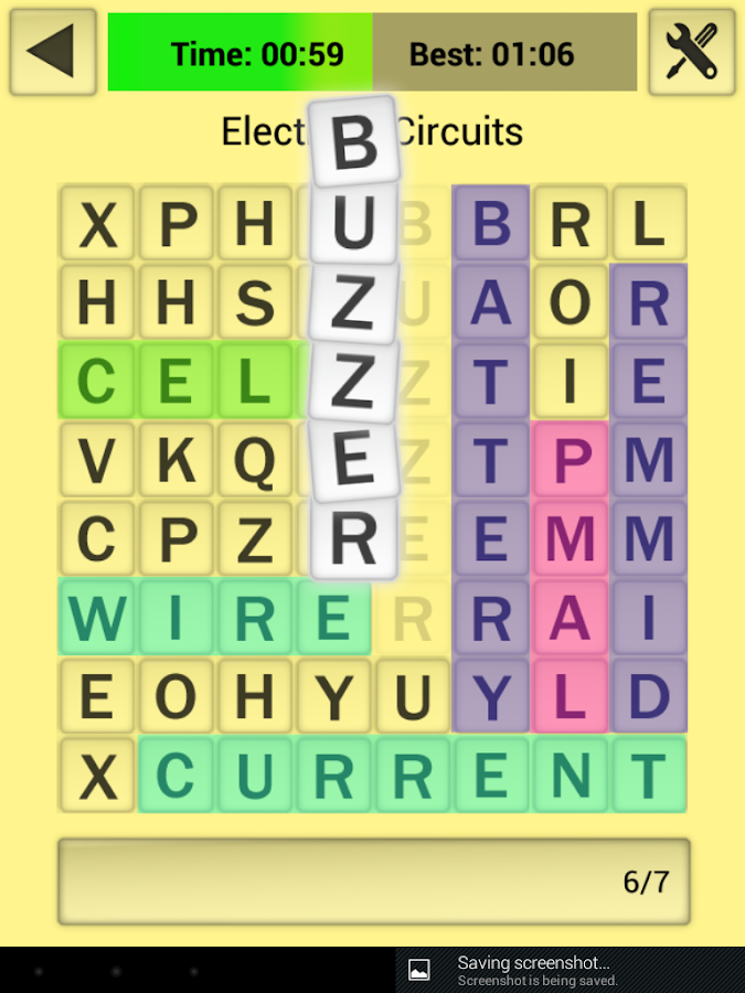 NTScience Wordsearch- screenshot