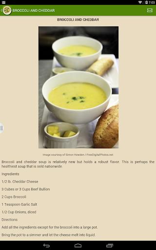 【免費書籍App】Best Homemade Soup Recipes-APP點子