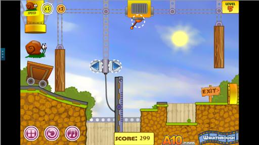 Игра SnailBob - Game Back To Home для планшетов на Android
