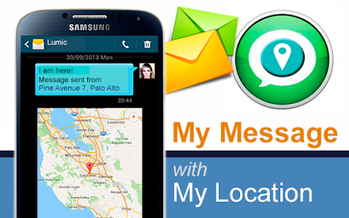 IMessage - SMS My Location - screenshot thumbnail