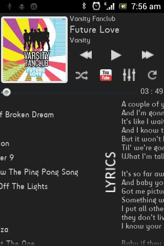 FusionPro Music Player Beta - screenshot