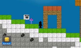 Screenshot of BlockWorld 2D LITE