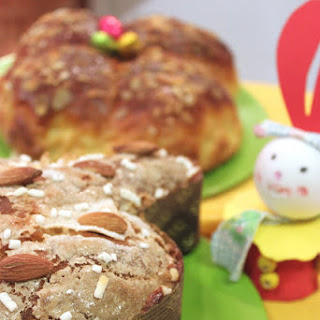 Colomba Easter Cake with Brewer's Yeast.