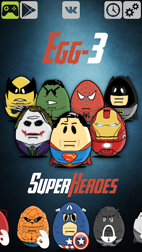 Egg-3 Superheroes