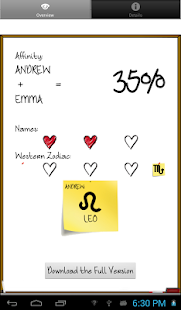 Love %: Compatibility Test- screenshot thumbnail