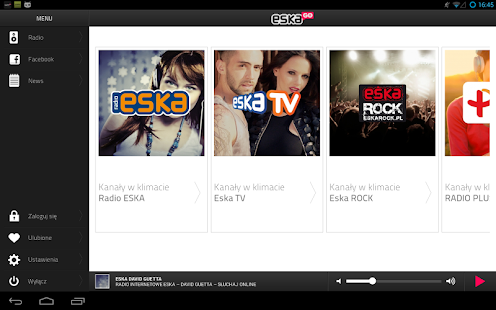 eskaGO - radio internetowe - screenshot thumbnail