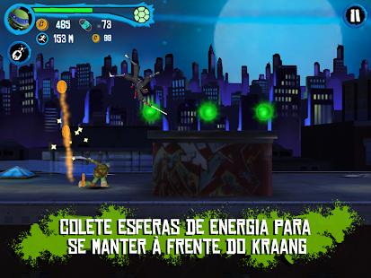 TMNT : Corrida no Telhado - screenshot thumbnail
