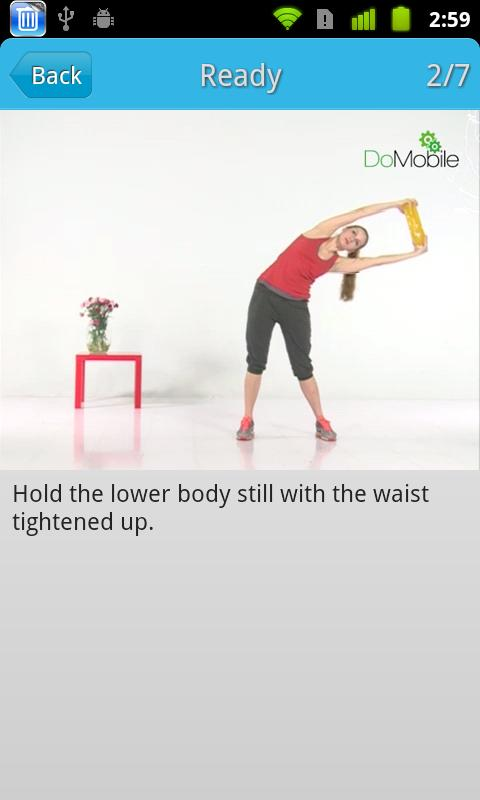 Ladies' Home Workout - screenshot