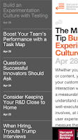 Screenshot of HBR Tips