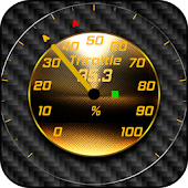 Torque Theme Gold Glass OBD 2