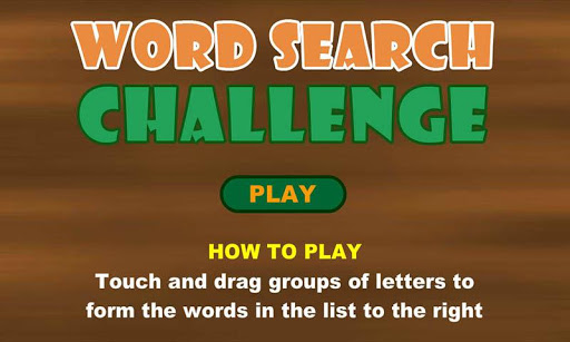 Word Search Challenge Ad-Free