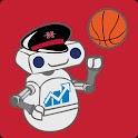 NICH Football & Basketball logo