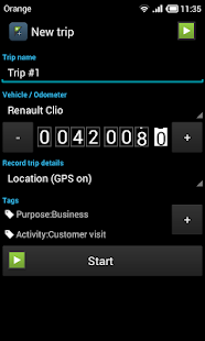 GPS Mileage Tracker - screenshot thumbnail