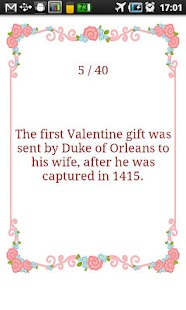 Valentine's Day Fun Facts - screenshot thumbnail