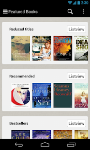 txtr ebooks - screenshot thumbnail