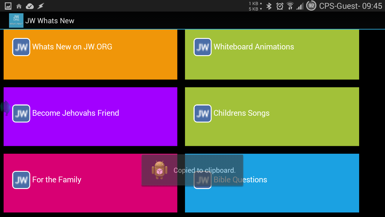 What's New JW ORG Unofficial APK Latest Version Download - Free News