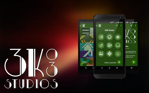 3K SR GREEN - Icon Pack