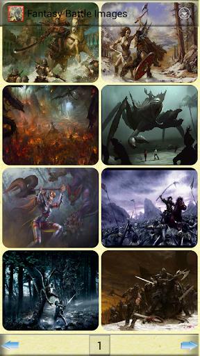 幻想戰鬥圖片