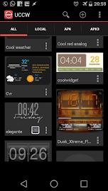 Ultimate custom widget (UCCW) Screenshot 1