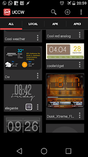 UCCW - Ultimate custom widget - screenshot thumbnail