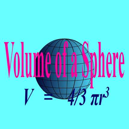 Animated Volume of a sphere