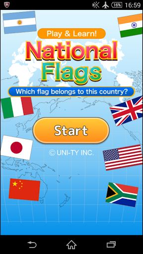 National Flags Play Learn