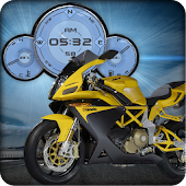 Bimota DB35 Bike Clock HD LWP
