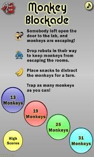 Monkey Blockade- screenshot thumbnail