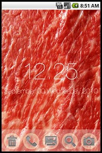 WAGYU Clock Live wallpaper - screenshot thumbnail