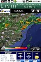 Screenshot of WVEC Radar