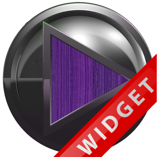 Poweramp Widget Purple Wood Me