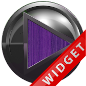 Poweramp Widget Purple Wood Me