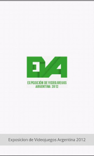 EVA 2012 Videojuegos Argentina