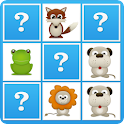Android Application - Animals Memory Game For Kids