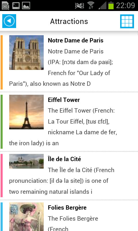 Paris Offline Map for Tourists- screenshot