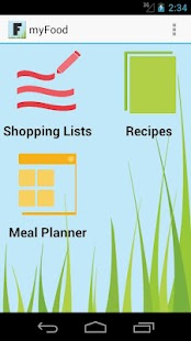my Food - Grocery Planner- screenshot thumbnail