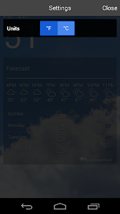 The Weather Forecast- screenshot thumbnail