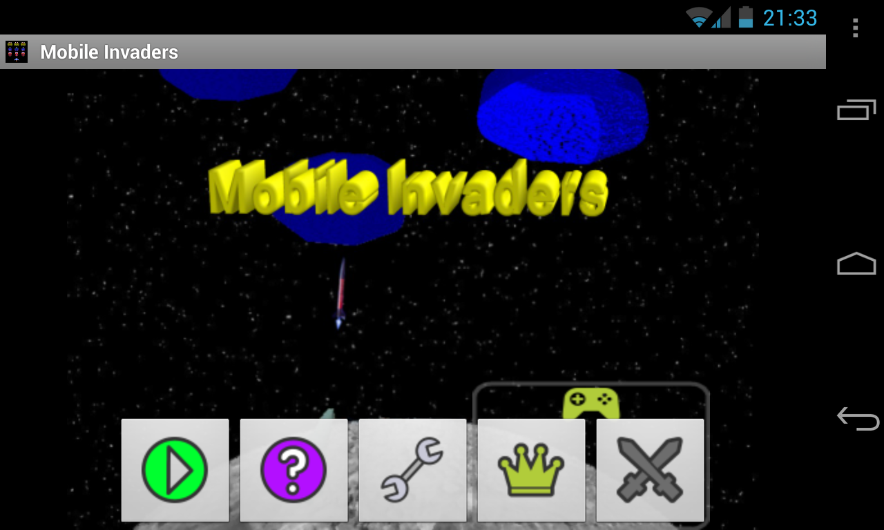 Mobile Invaders- screenshot