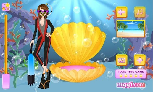 Scuba Diving Dress Up - screenshot thumbnail