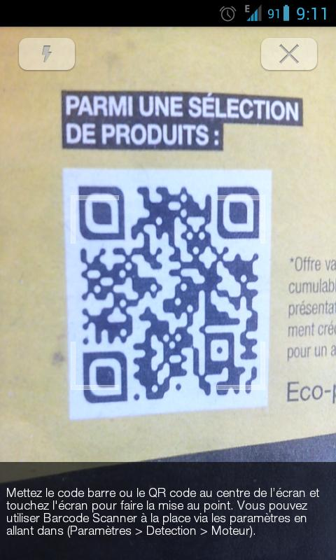 Social Barcode & QR Scanner - screenshot