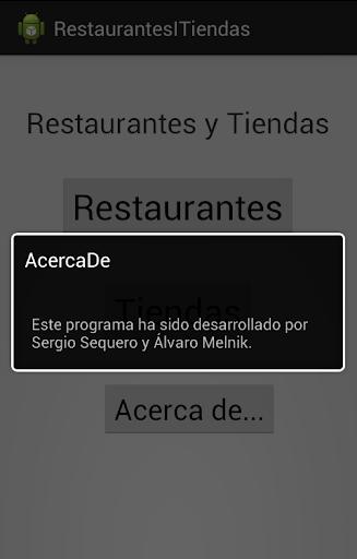 Restaurantes y tiendas BCN