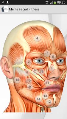 Men's Facial exercises - screenshot