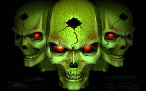 3D Horror Skull HD Wallpapers